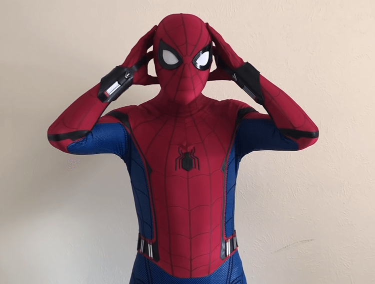 Peter parker cosplay suit